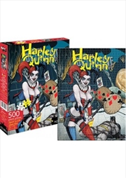 DC Comics Harley Quinn Cover 500pc Puzzle