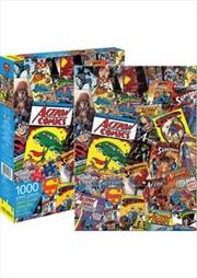 DC Comics Superman Retro Collage 1000pc Puzzle | Merchandise
