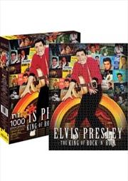 Elvis – Albums Collage 1000pc Puzzle
