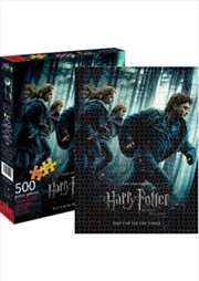 Harry Potter & The Deathly Hallows Part 1 Puzzle 500 pieces