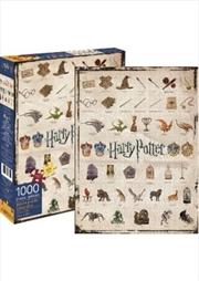 Harry Potter – Icons 1000pc Puzzle | Merchandise