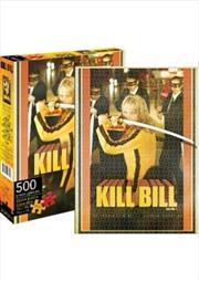 Kill Bill Vol 1 Sheet Puzzle 500 pieces