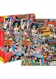 Wonder Woman Comic Collage Puzzle 1000 pieces