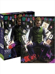 Joker Heath Ledger Puzzle 1000 pieces