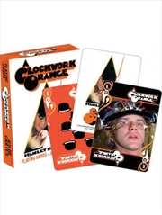 A Clockwork Orange Playing Cards | Merchandise