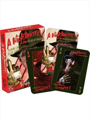 Nightmare on Elm Street Playing Cards | Merchandise
