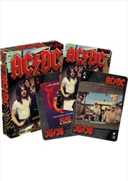 ACDC Albums Playing Cards