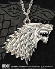 Stark Silver Pendant