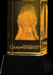 3d Crystal Iron Throne