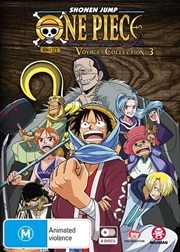 One Piece Voyage - Collection 3 - Eps 104-156