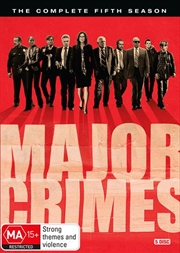 Major Crimes - Season 5 | DVD