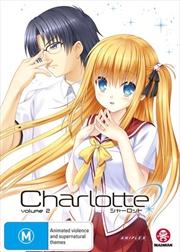 Charlotte - Part 2 - Eps 8-12 | DVD