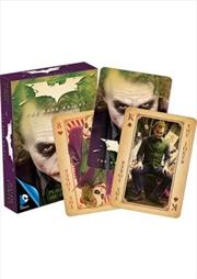 DC Comics Heath Ledger The Joker Playing Cards