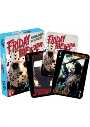 Friday the 13th Cast Playing Cards