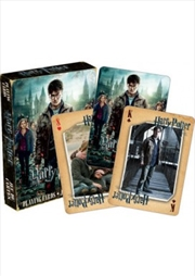 Harry Potter Deathly Hallows Part 2 Playing Cards