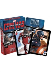 Marvel Captain America Civil War Playing Cards