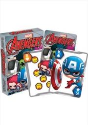 Marvel Avengers Chibi Playing Cards