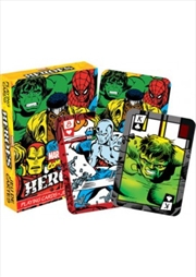 Marvel Heroes Comics Playing Cards