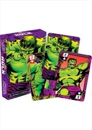 Marvel Hulk Comics Playing Cards