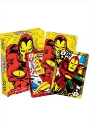 Marvel Iron Man Comics Playing Cards