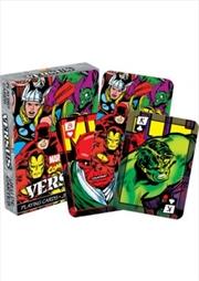 Marvel Versus Comics Playing Cards | Merchandise