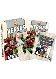 Marvel Versus Retro Playing Cards | Merchandise