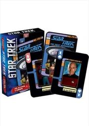 Star Trek Next Generation Playing Cards