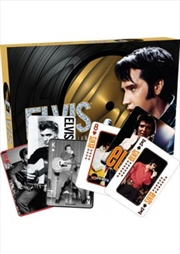 Elvis Playing Card Keepsake Matchbox