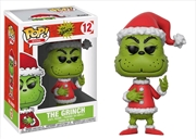 Dr Seuss - Santa Grinch (with chase) Pop! Vinyl
