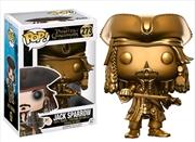 Jack Sparrow Gold | Pop Vinyl
