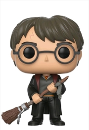 Harry With Firebolt | Pop Vinyl