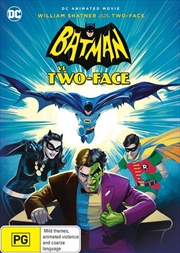 Batman Vs. Two-Face | DVD