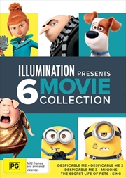 Illumination Boxset: Despicable Me Trilogy/Minions/Secret Life Of Pets/Sing | DVD