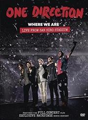 Where We Are- Live From San Siro Stadium 2014 | DVD
