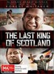 Last King Of Scotland   DVD