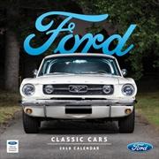 Classic Ford Cars Calendar 2018