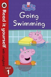 Peppa Pig: Going Swimming | Paperback Book