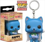 Happy Pop Keychain