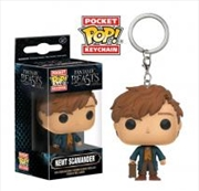 Fantastic Beasts and Where to Find Them - Newt Pop! Keychain
