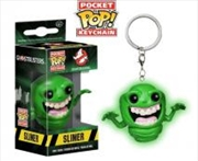 Slimer Glow Pop Keychain | Accessories