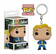 Vault Boy Pop Keychain | Accessories