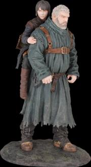 Hodor And Bran Statue