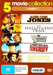 Along Came Jones/Hallelujah Trail/Rancho Deluxe/Support Your Local Sheriff/Gunfighter