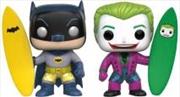 Batman And Joker Surfs 2pk | Pop Vinyl