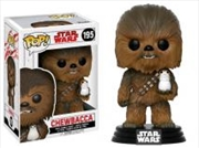 Chewbacca With Porg | Pop Vinyl
