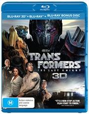 Transformers - The Last Knight - Limited Edition | 3D + 2D Blu-ray - Bonus Disc