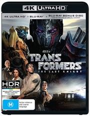 Transformers - The Last Knight - Limited Edition | Blu-ray + UHD - Bonus Disc