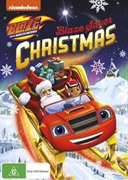 Blaze And The Monster Machines - Blaze Saves Christmas