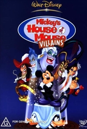 Mickey's House Of Mouse Villains | DVD