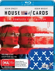 House Of Cards - Season 5 | Blu-ray